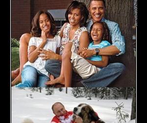 Обама и Путин. Без слов