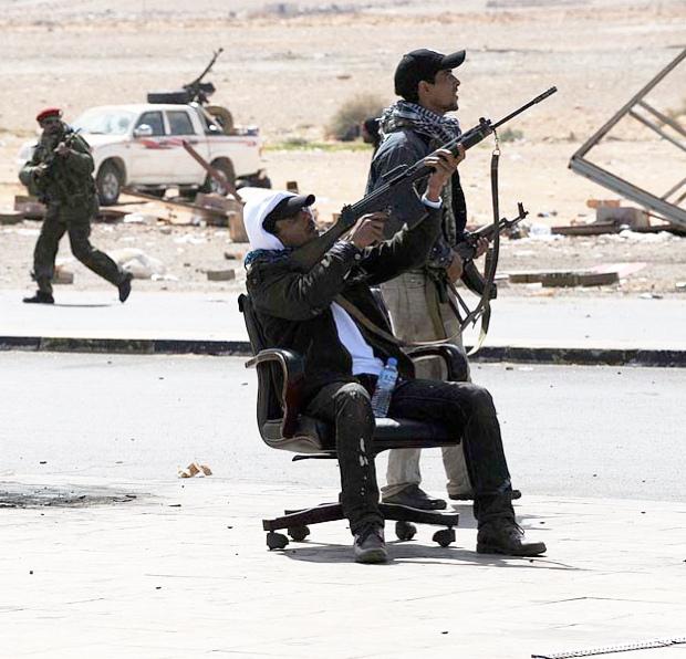 Современные военные технологии в Ливии