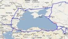 Кольцевая дорога вокруг черного моря